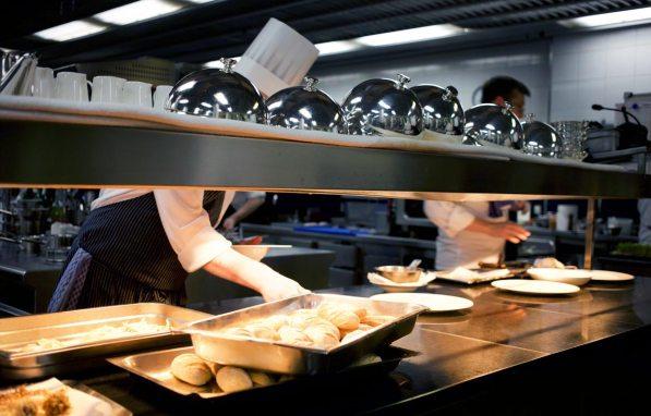 Küche Jacobs Restaurant Hamburg
