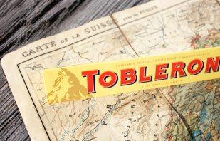 Toblerone mit Bär im Matterhorn