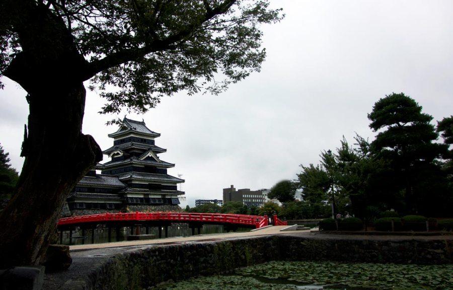 Matsumoto Castle Krähenburg