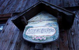 Handgemaltes Schild - Altaussee