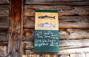 Tafel Restaurant Jagdhaus Seewiese Altaussee