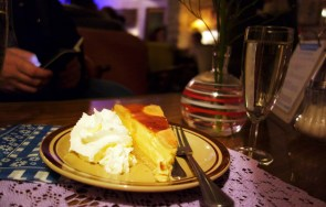 Torte im Café Vollpension in Wien