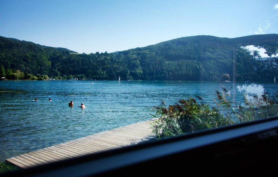 Fenster zum See