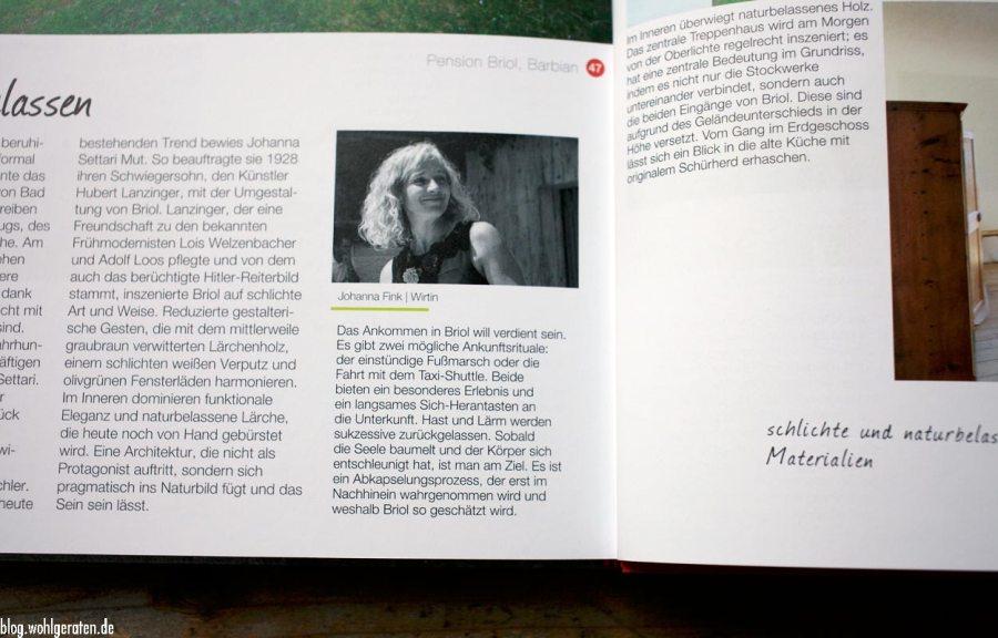 Johanna Fink – Pension Briol