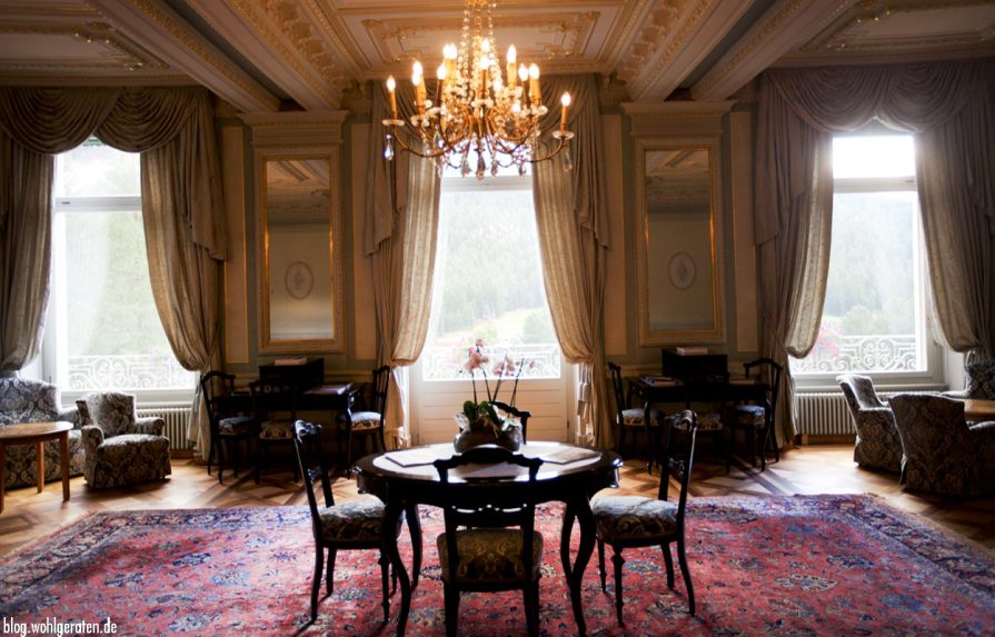 Salon Grandhotel Kronenhof Pontresina