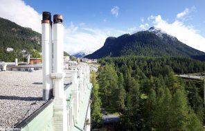 Grandhotel Kronenhof Pontresina – Turmsuite Aussicht