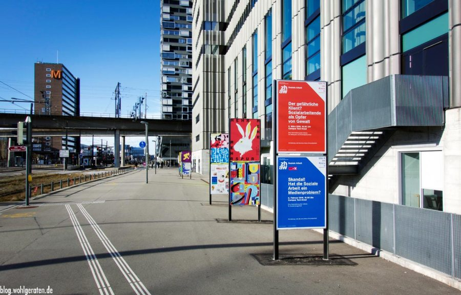 Pfingstweidstraße Zürich