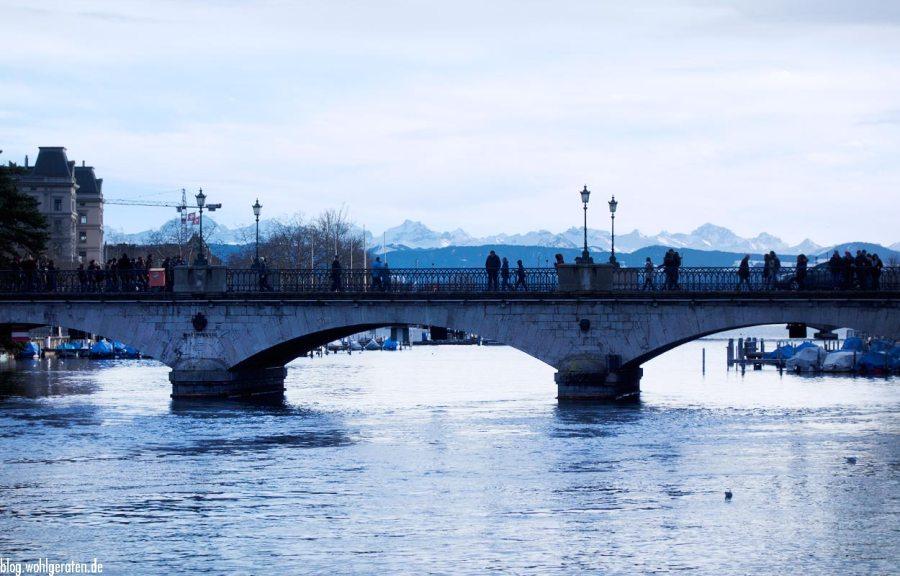 Zürich – Brücke über die Limmat
