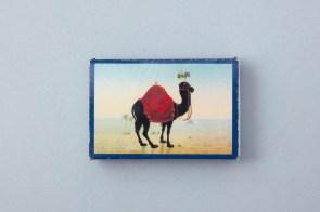 Streichholzschachtel Schwarzes Kamel Wien