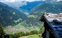Blick von der Autenalm - Stubai - Tirol