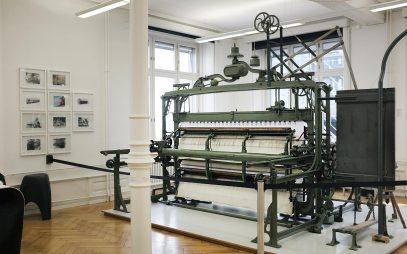 Stickmaschine - Textilmuseum St.Gallen