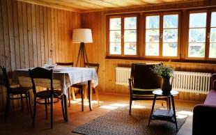 Hüs üf der Flüe – Wohnzimmer