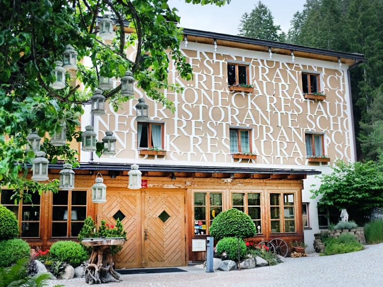 Eingang Restaurant Schöneck