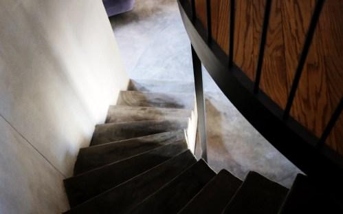 Treppe im Casa Castello