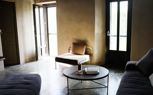 Wohnzimmer im Casa Castello
