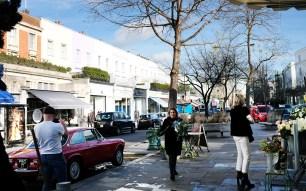Straßenszene Notting Hill