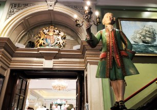 Treppenhaus Fortnum and Mason
