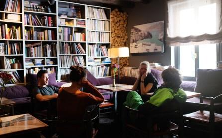 Bibliothek im Hotel Das Regina Bad Gastein