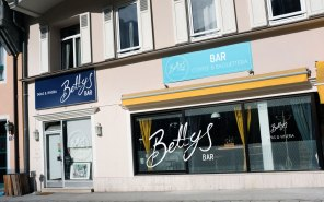 Bettys Bar in den Wintermonaten
