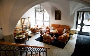 Lobby im Hotel Goldener Adler - Brixen