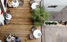 Suite Seven - Meran - Terrasse im Innenhof
