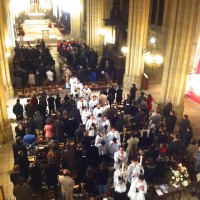 Messe solennelle de la fête de sainte Geneviève, patronne de Paris, à Sainte-Clotilde