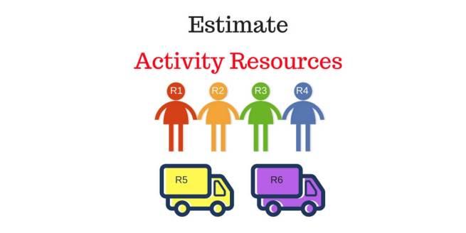 Estimate Activity Resources Process