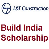 L&T Build India Scholarship - 2021