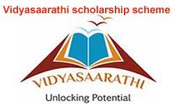 Vidyasaarathi Scholarship Scheme 2019
