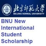 Beijing Normal University BNU New International Student Scholarship