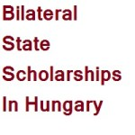 Bilateral State Scholarships In Hungary