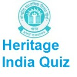 Central Board of Secondary Education Heritage India Quiz