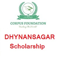 Corpus Foundation DHYNANSAGAR Scholarship