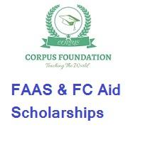 Corpus Foundation FAAS & FC Aid Scholarships