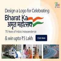 Design a Logo for Celebrating Bharat Ka Amrut Mahotsav