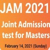 Joint Admission Test For Masters-JAM