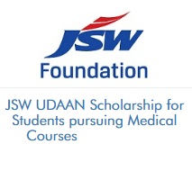 JSW UDAAN Scholarship for Students pursuing Medical Courses