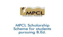 MPCL Scholarship Scheme for B.Ed Students