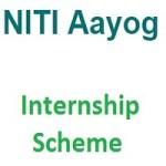 NITI Internship Scheme