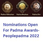 Nominations Open For Padma Awards-Peoplepadma 2022