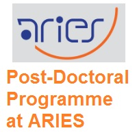 Post Doctoral Fellowship at ARIES - Aryabhatta Research Institute of Observational Sciences
