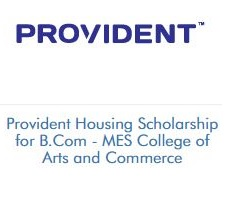 Provident Housing Scholarship for B.Com - MES College of Arts and Commerce