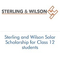 Sterling and Wilson Solar Scholarship for Class 12 students