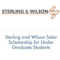Sterling and Wilson Solar Scholarship for Under Graduate Students