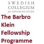 The Barbro Klein Fellowship Programme
