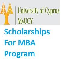 University of Cyprus Scholarships For MBA Program