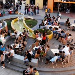 Cyprus International University food court