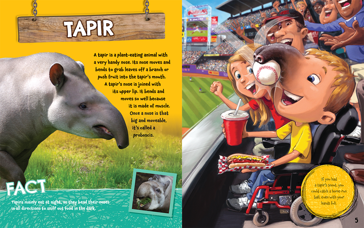 Scholastic Canada What If You Had An Animal Nose