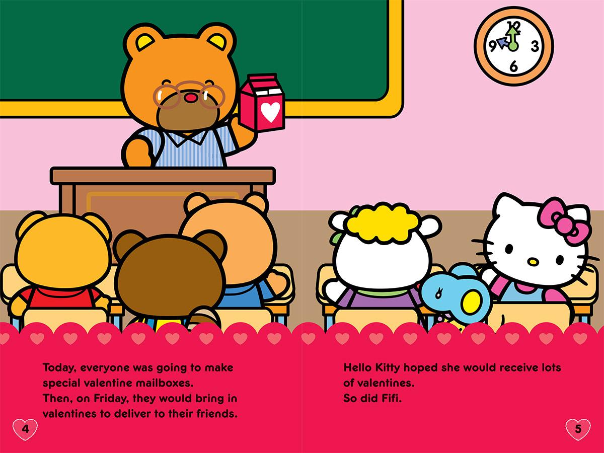 Happy Valentine S Day Hello Kitty
