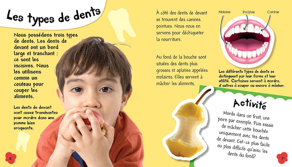 Editions Scholastic Mon Corps En Sante Pourquoi Je Me Brosse Les Dents